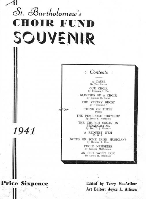 1941 Souvenir Front